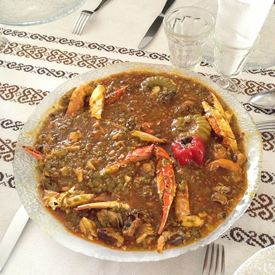 Sean Brock in Senegal: Soupe kandia
