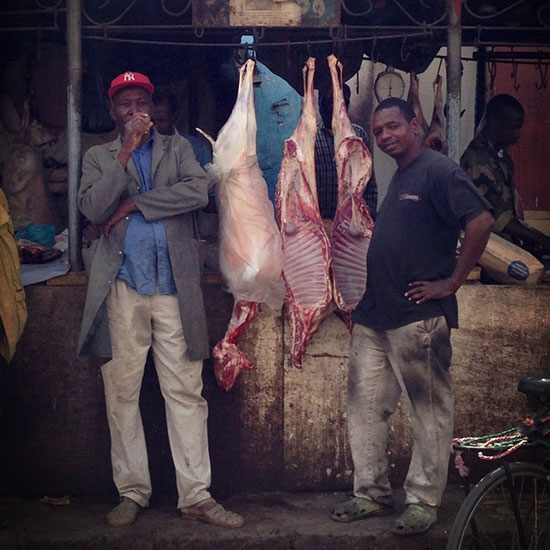 Sean Brock in Senegal: Lamb butchers