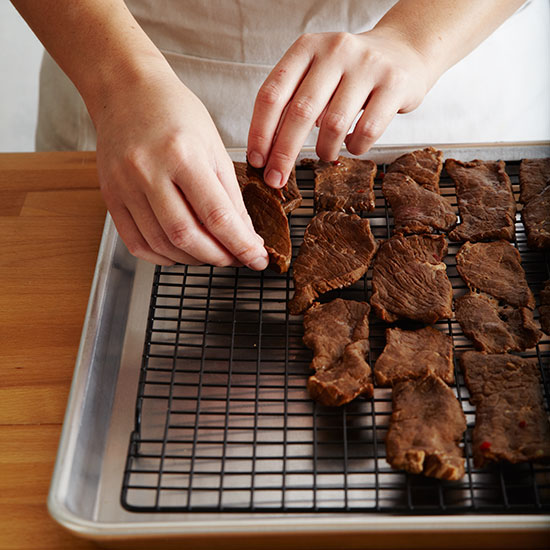 How to Make Beef Jerky: Bake the Jerky