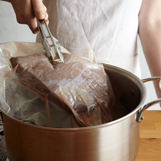 How to Sous Vide: Remove steak