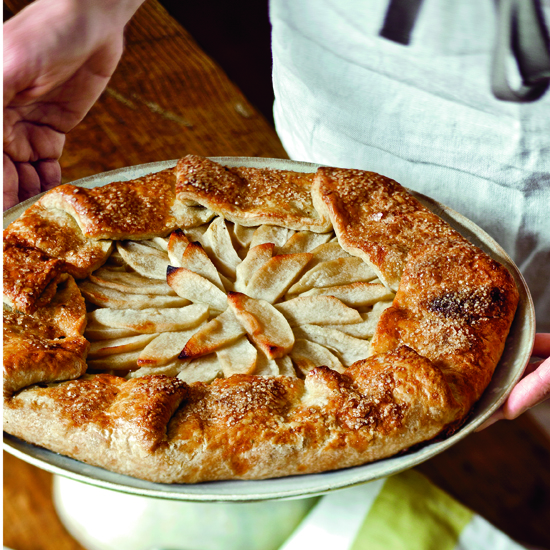 Free-Form Apple Tart