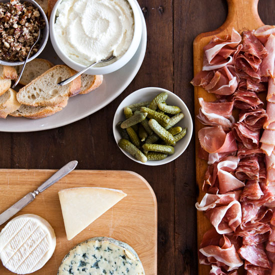 Fall's Last Hurrah: Cured Meats and Cheeses