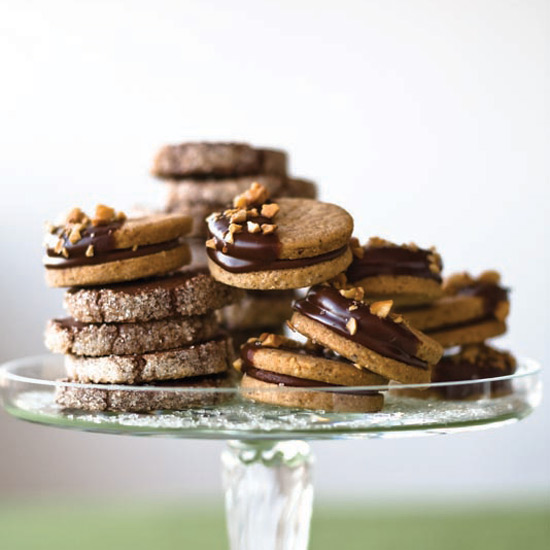 Hazelnut Sandwich Cookies