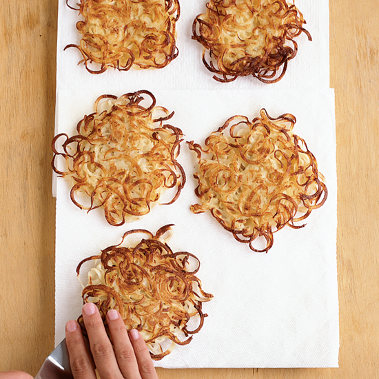 Kate's Supercrispy Potato Latkes