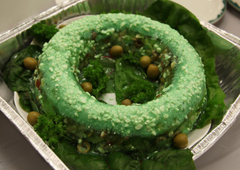 Andrew Zimmern in Minnesota: Lime Jell-O mold