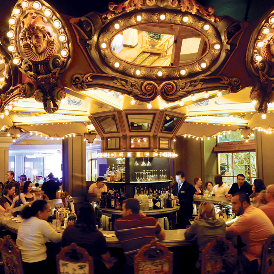 Carousel Bar, at the Hotel Monteleone, New Orleans