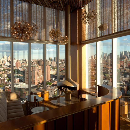 Top of the Standard, at the Standard Hotel, New York City