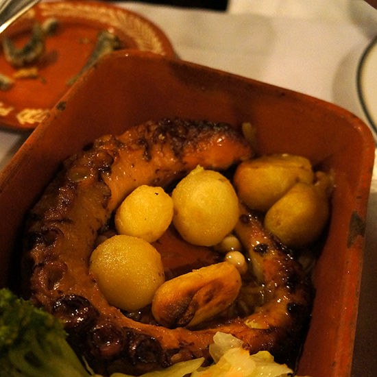 Portugal Dream Trip: Roasted Octopus at A Grade, Porto