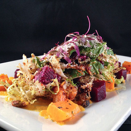 Seasonal Muse: Butternut Squash & Roasted Beet Salad at Beauty and Essex