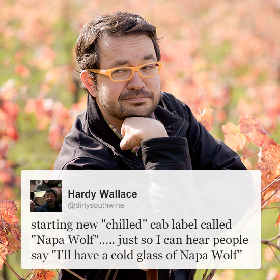 Wine Experts on Twitter: Hardy Wallace