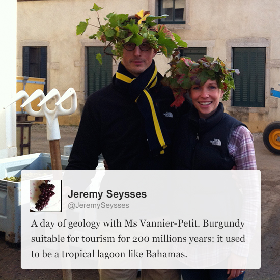 Wine Experts on Twitter: Jeremy Seysses