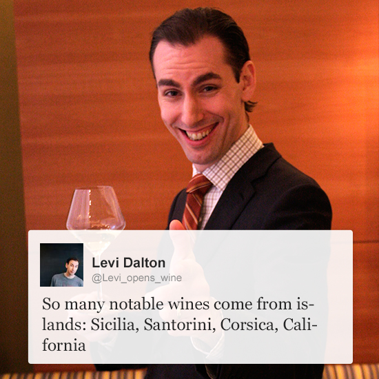 Wine Experts on Twitter: Levi Dalton