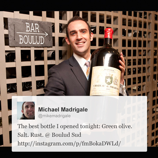 Wine Experts on Twitter: Michael Madrigale