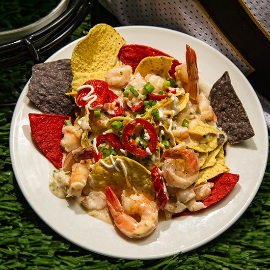 Best Stadium Food: Seafood Nachos