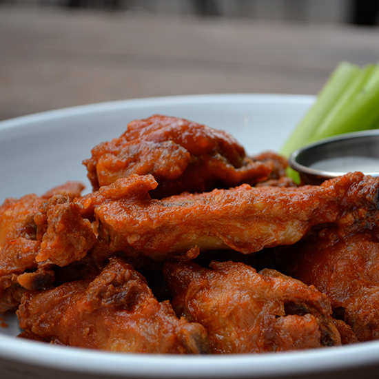 Best Stadium Food: Crispy Confit Chicken Wings
