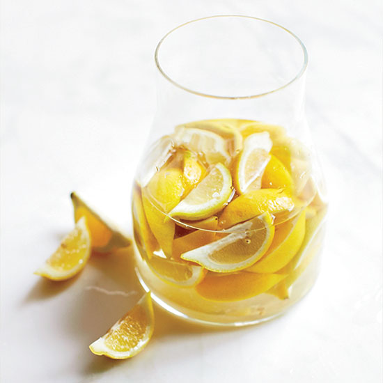 How to Make Lemon Marmalade: Soak