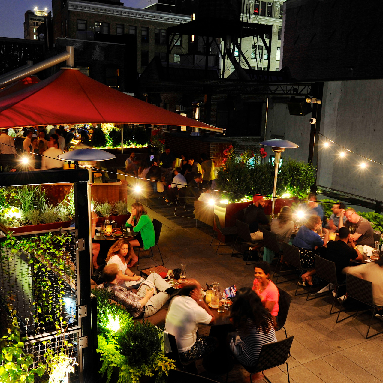Best Hotel Bars: Roof at Park South