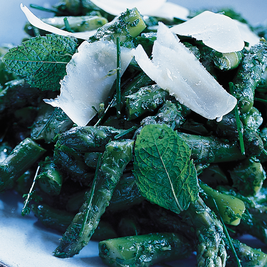 Asparagus Salad with Herbs and Parmesan