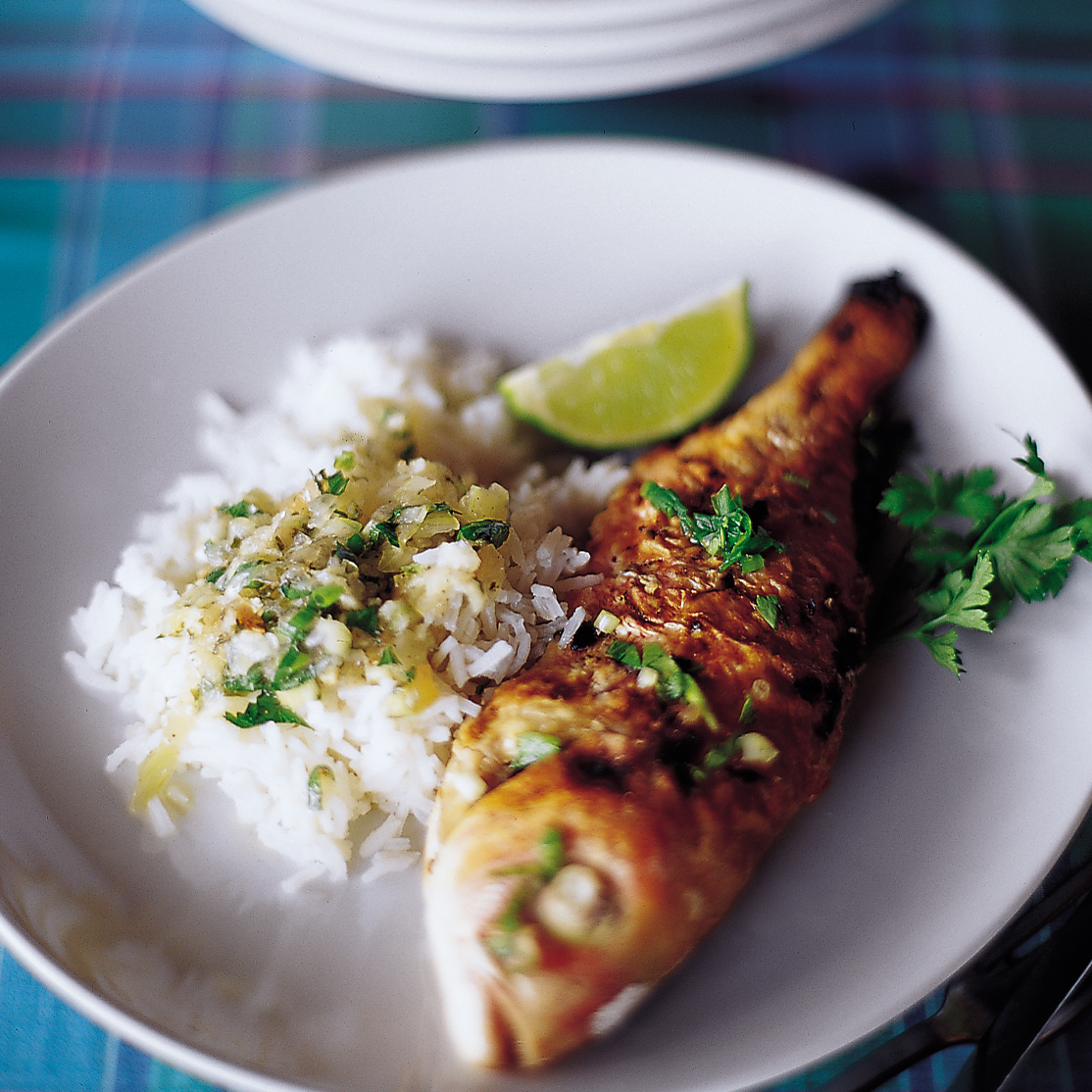 Grilled Fish with Sauce au Chien