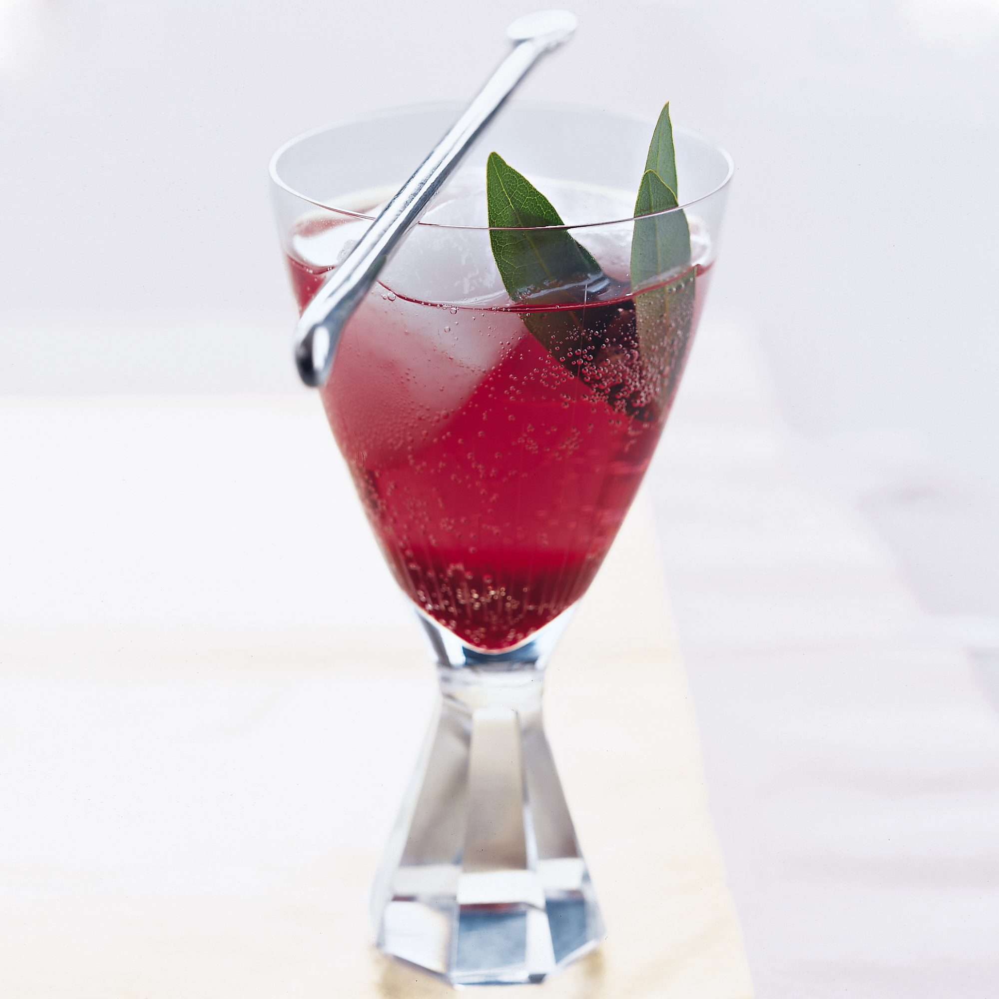 Plum-Blueberry Spritzers