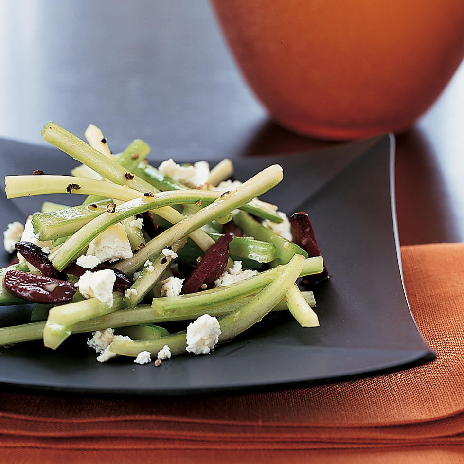 Celery and Olive Antipasto with Ricotta Salata