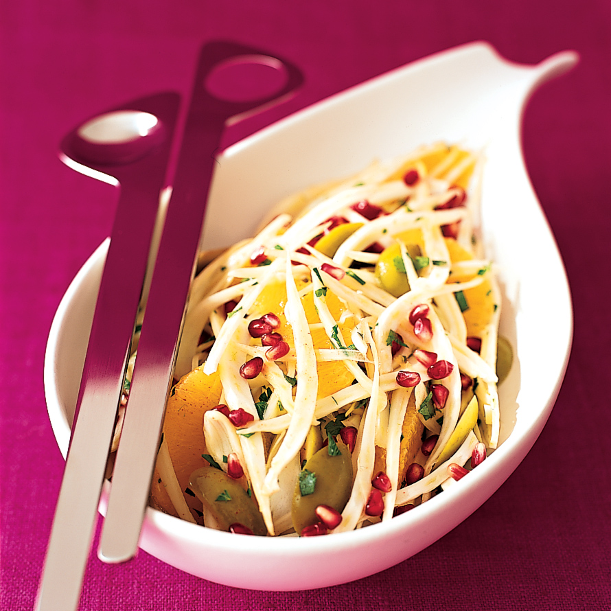 Pomegranate-Fennel Salad
