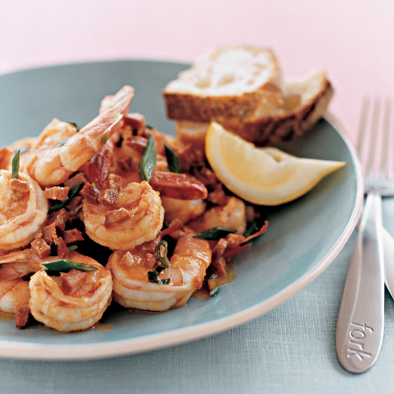 Pan-Seared Shrimp with Hot Chorizo Butter
