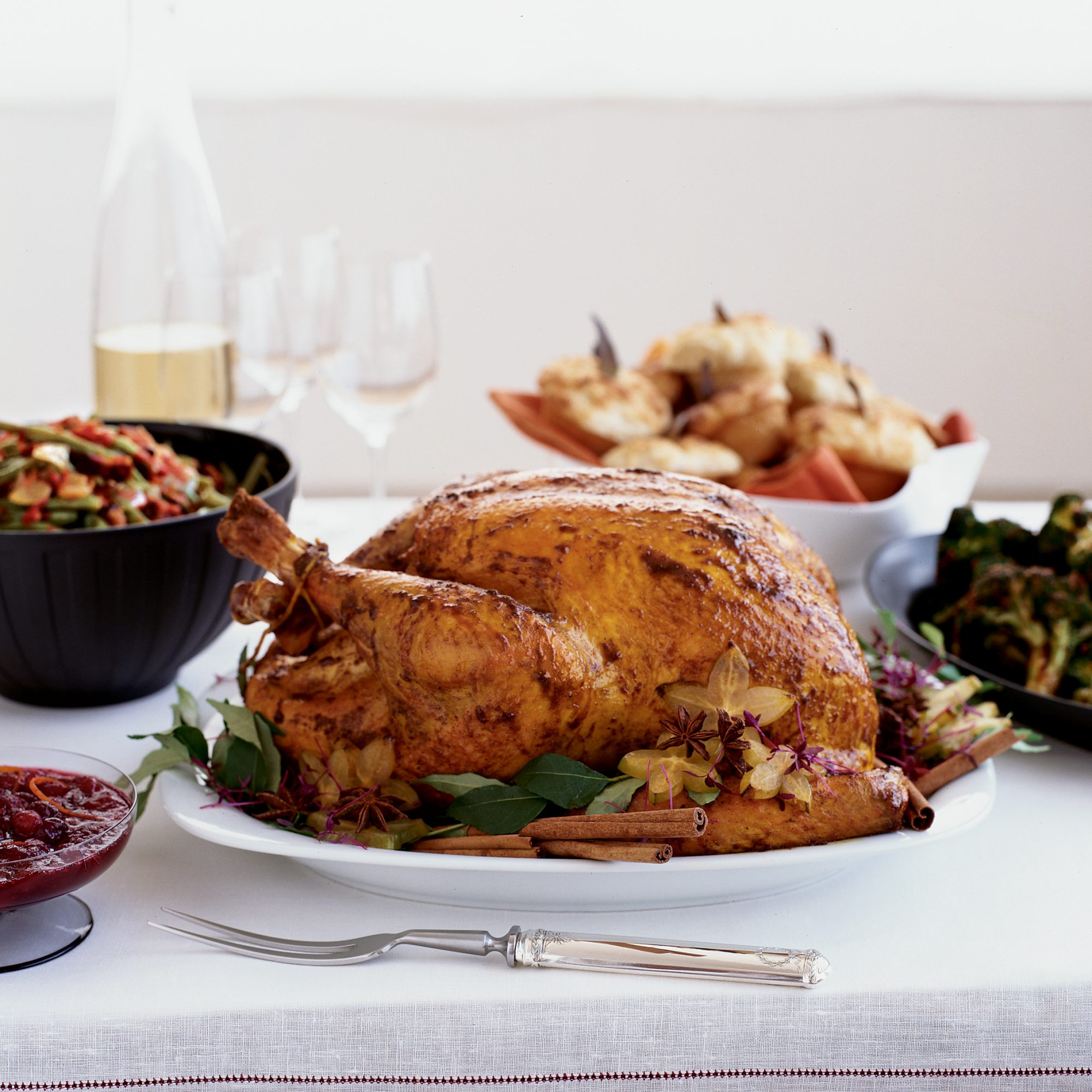 Imperial Turkey with Curry Gravy