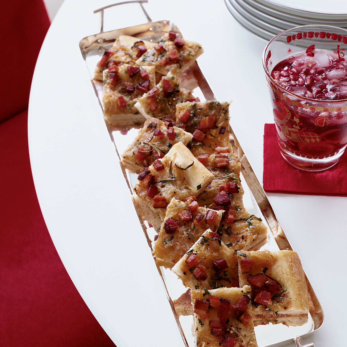 Alsatian Potato and Bacon Tart