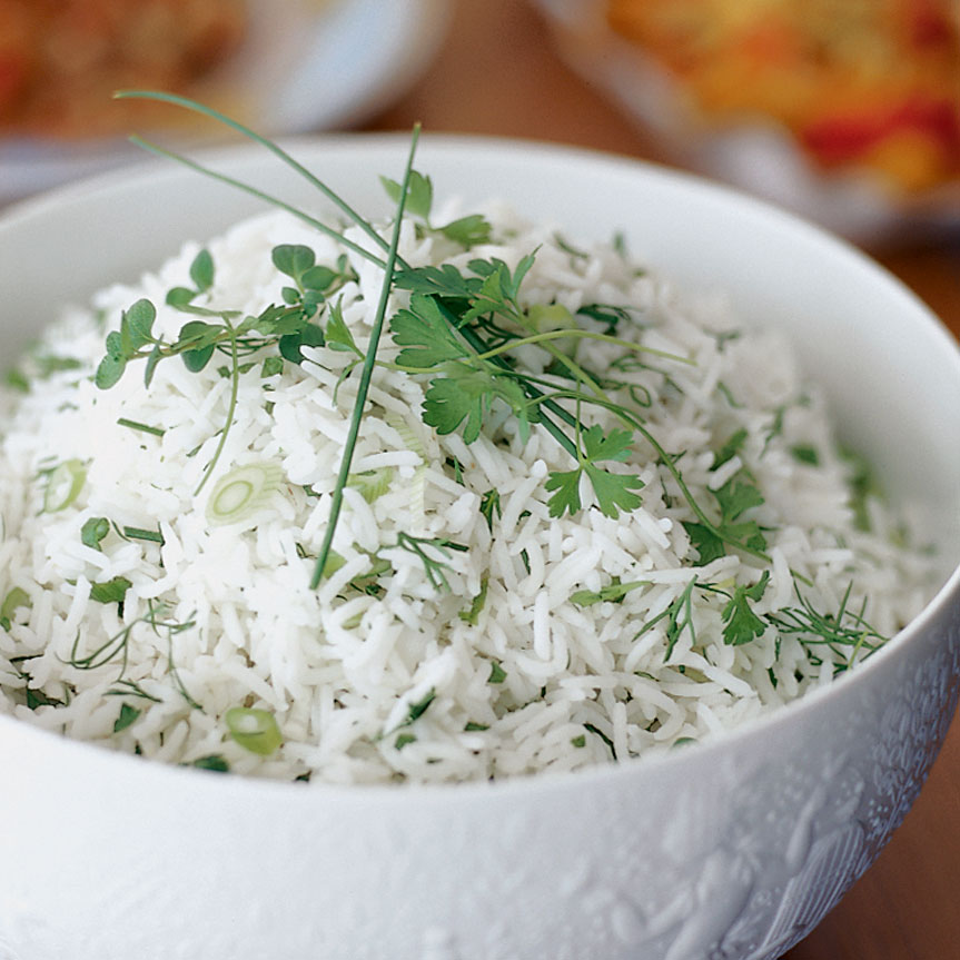 Rice with Fresh Herbs