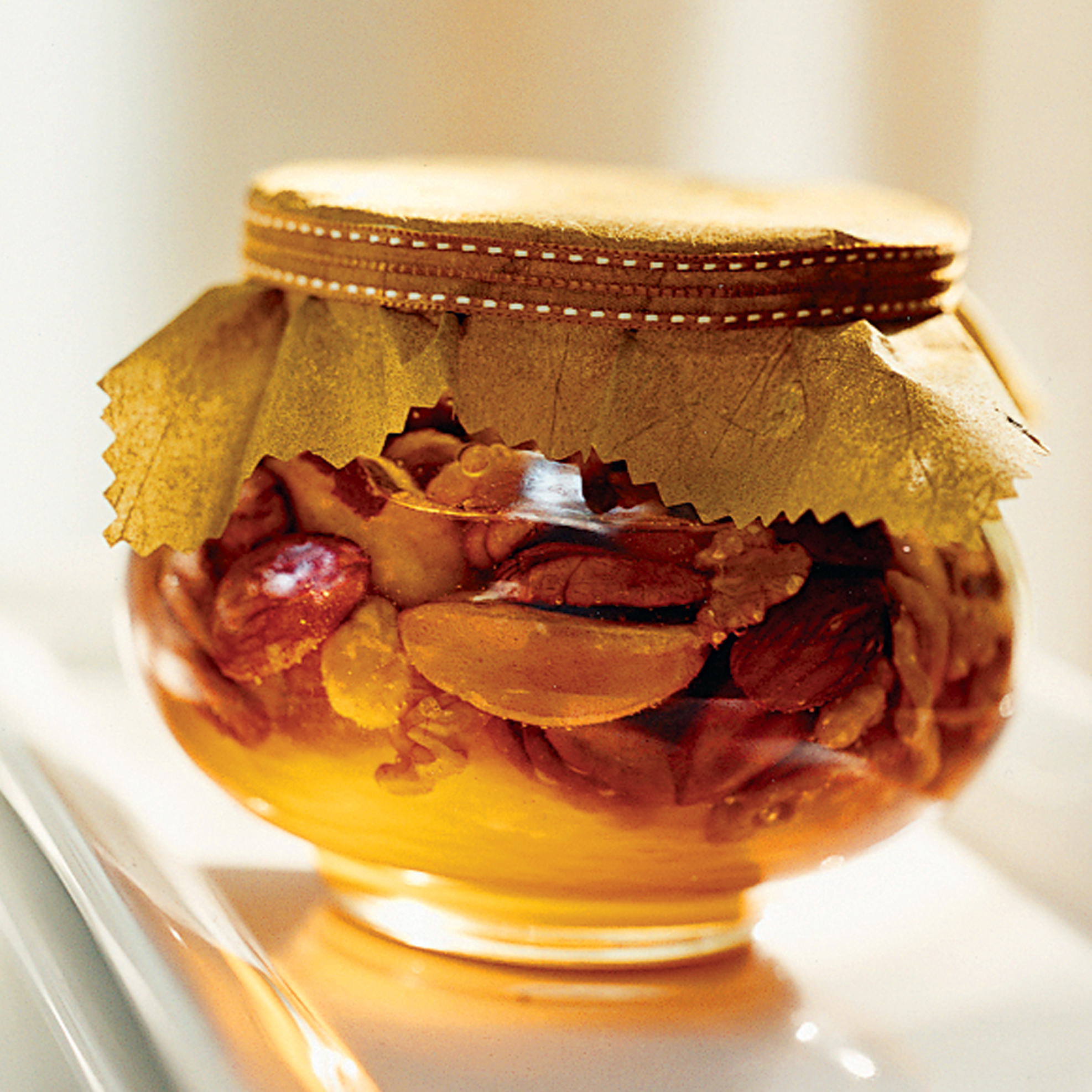 Toasted Nuts in Honey