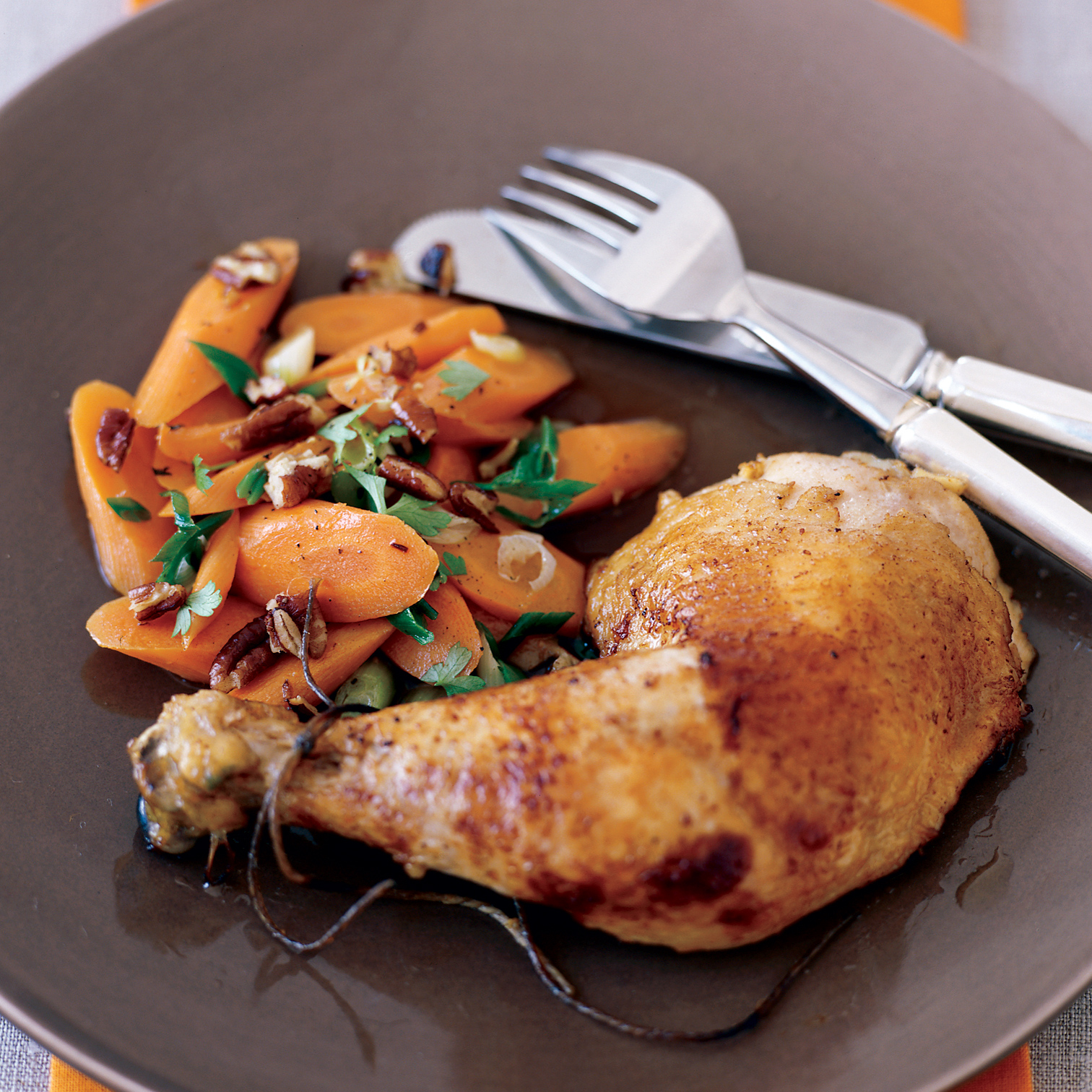 Citrus-and-Ginger-Roasted Chicken