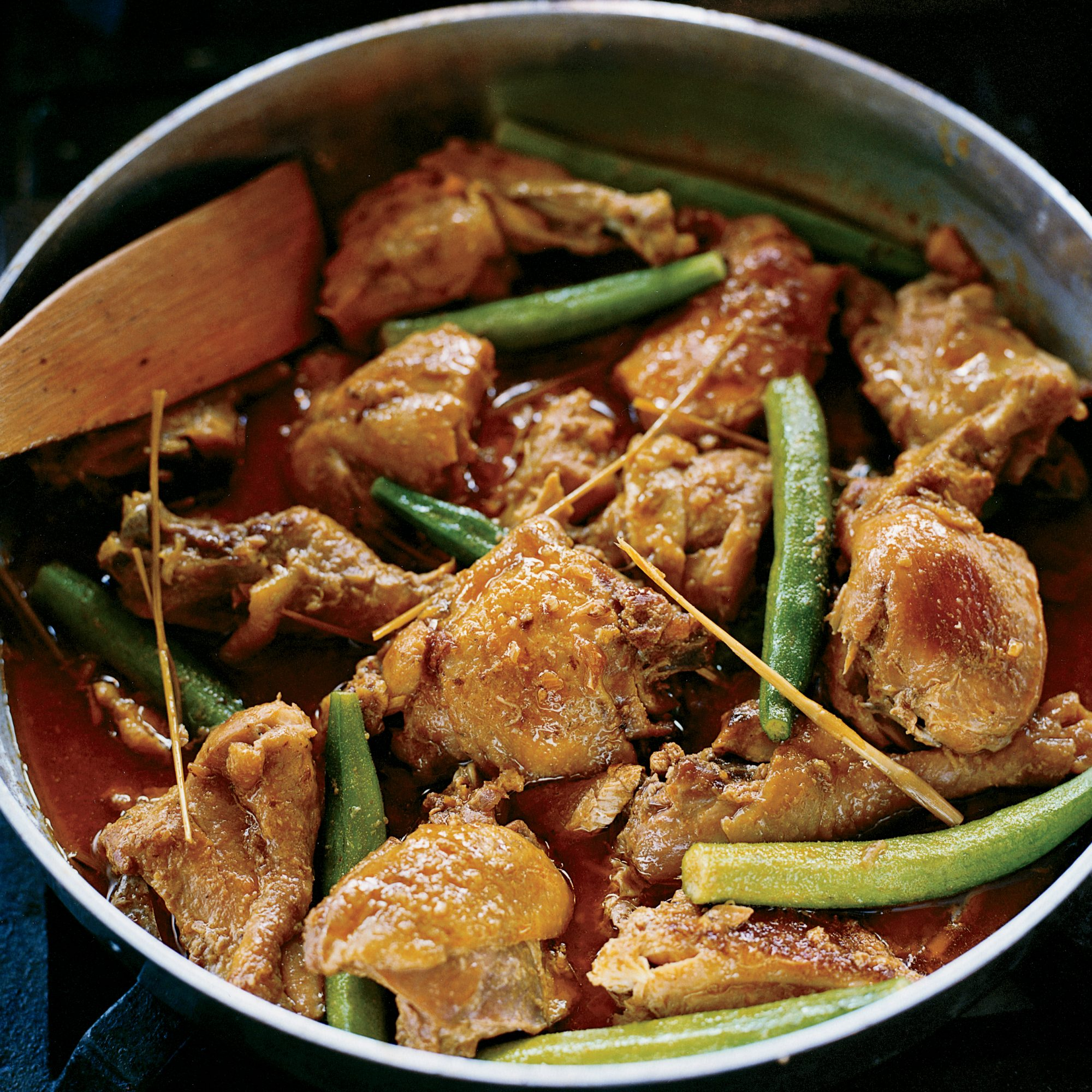 Chicken and Okra Fricassee