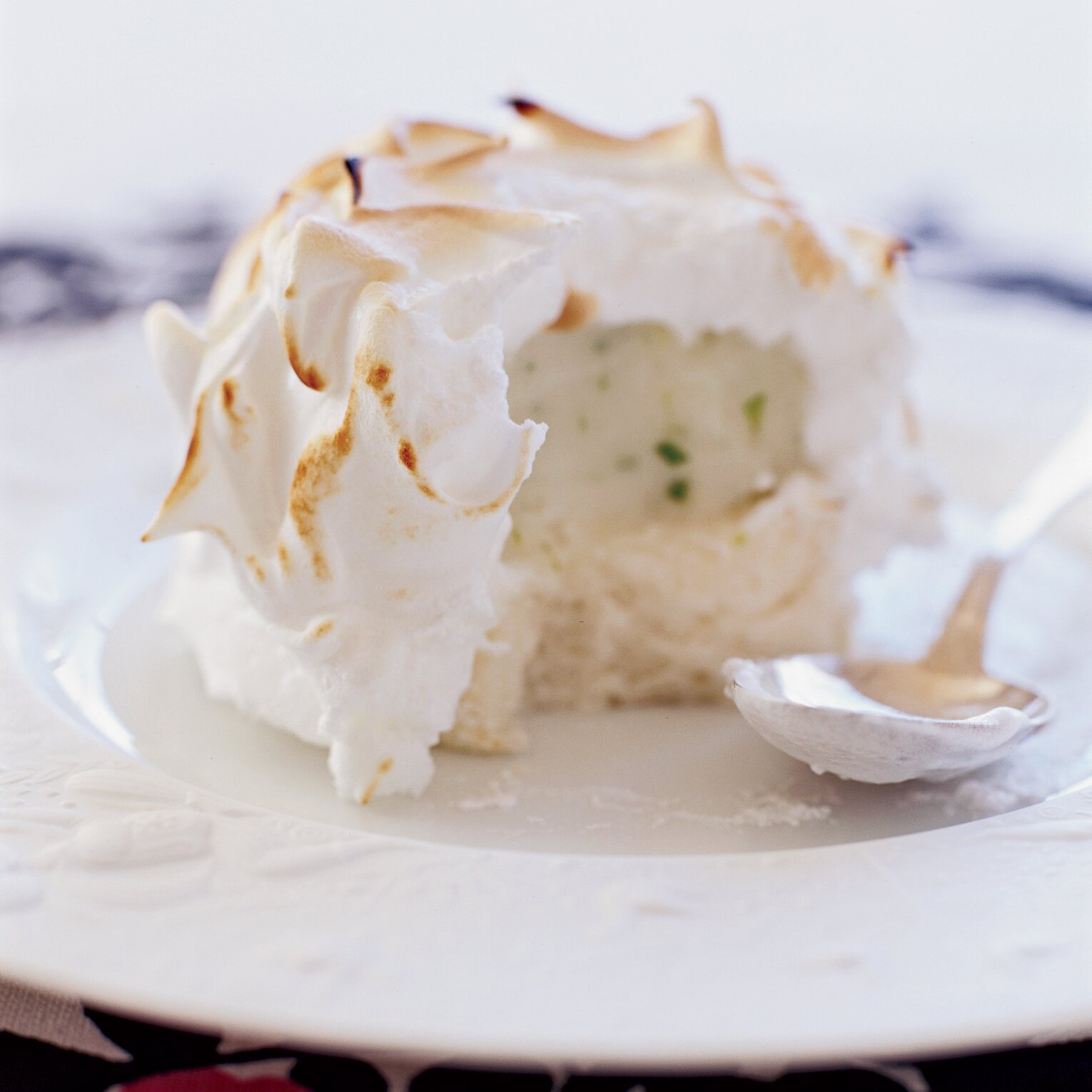 Minty Lime Baked Alaska Recipe Grace Parisi Food Wine