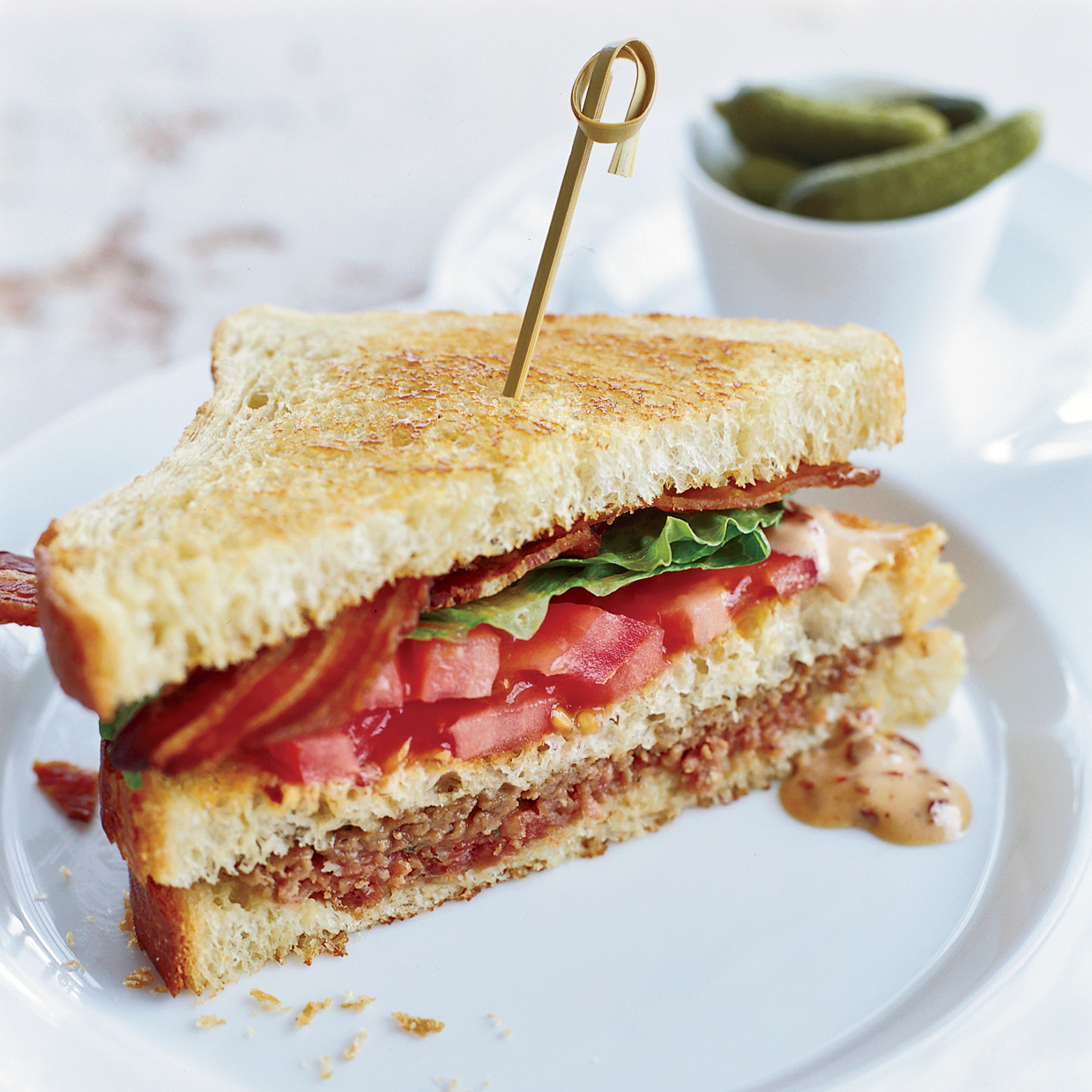 Meat Loaf Club Sandwiches