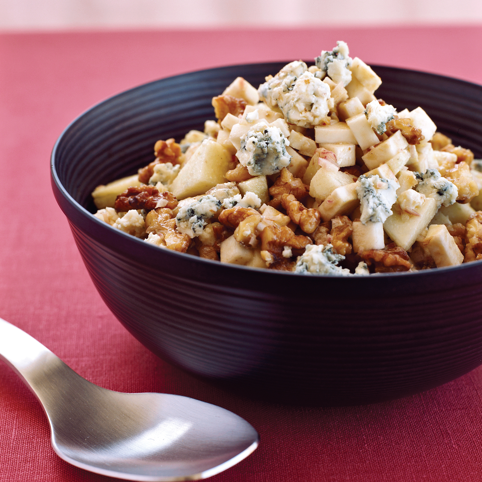Celery Root with Apples, Walnuts and Blue Cheese