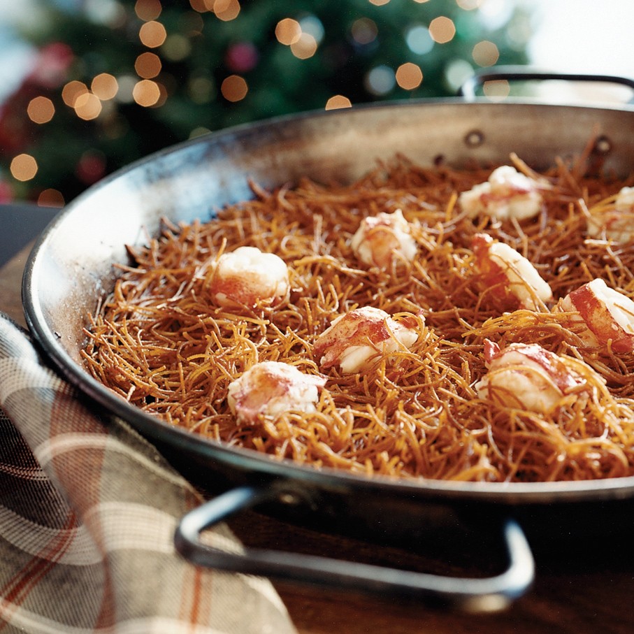 Lobster with Fideos