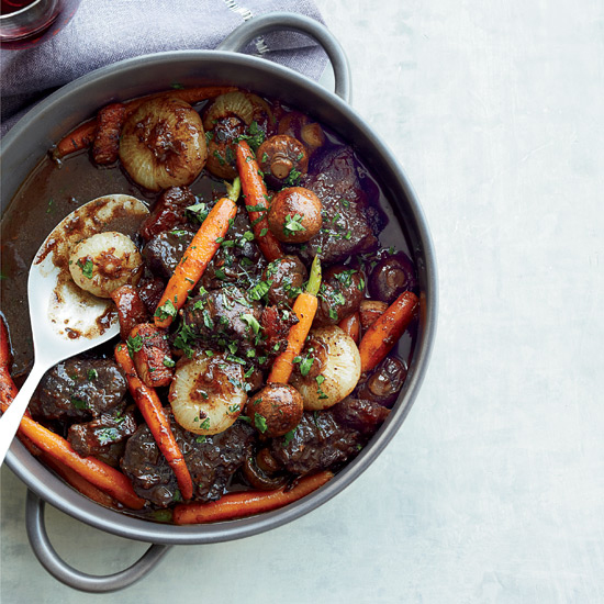 Beef Stew In Red Wine Sauce Recipe Jacques P Eacute Pin Food Wine