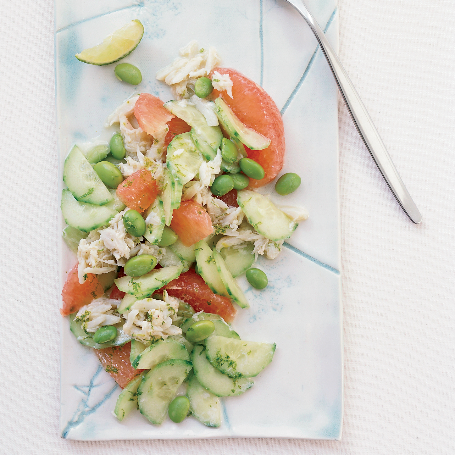 Cucumber-Grapefruit Crab Salad