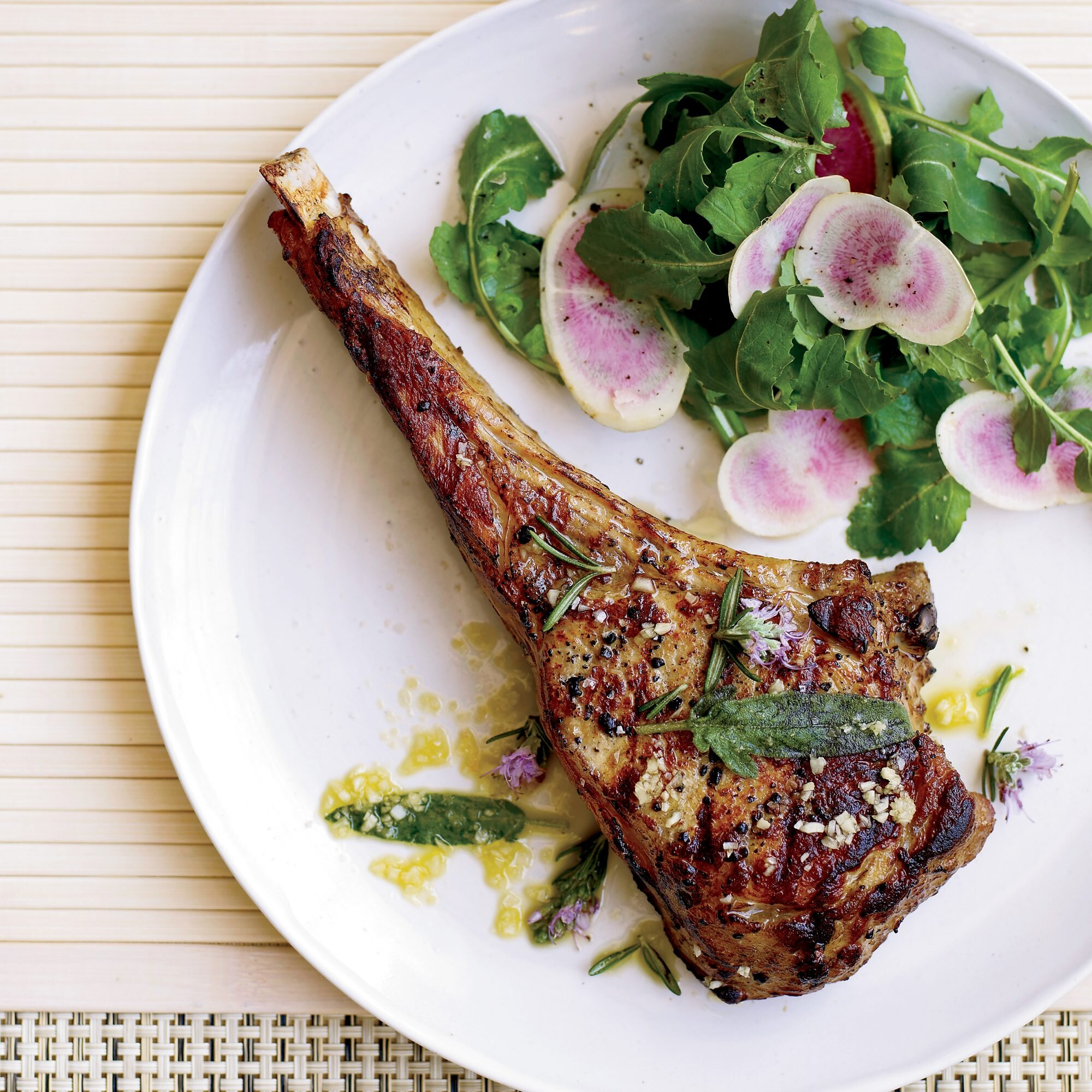 veal chop recipe ideas Tuscan-Style Veal Chops