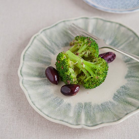 Broccoli with Garlicky Tapenade