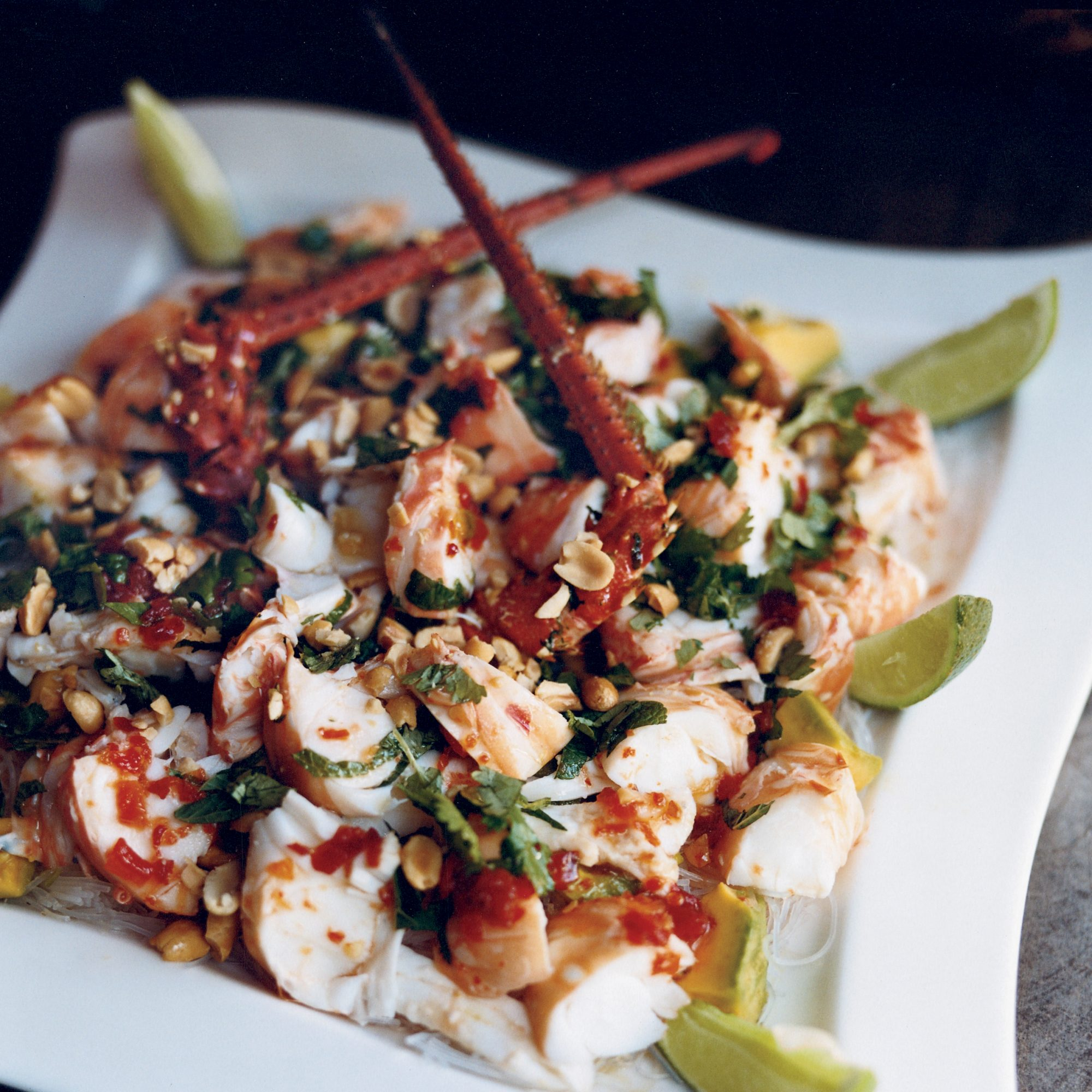 Spicy Lobster-Noodle Salad