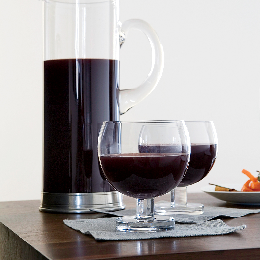 Mulled Red Wine with Muscovado Sugar