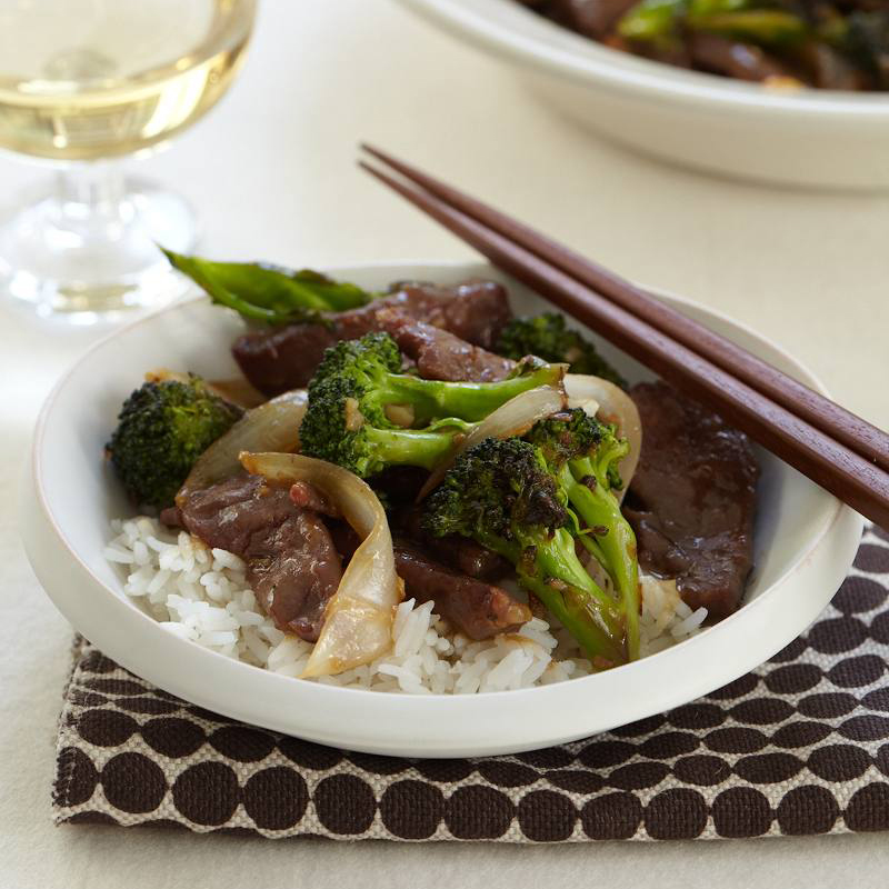 Chinese Crispy Beef with Broccoli
