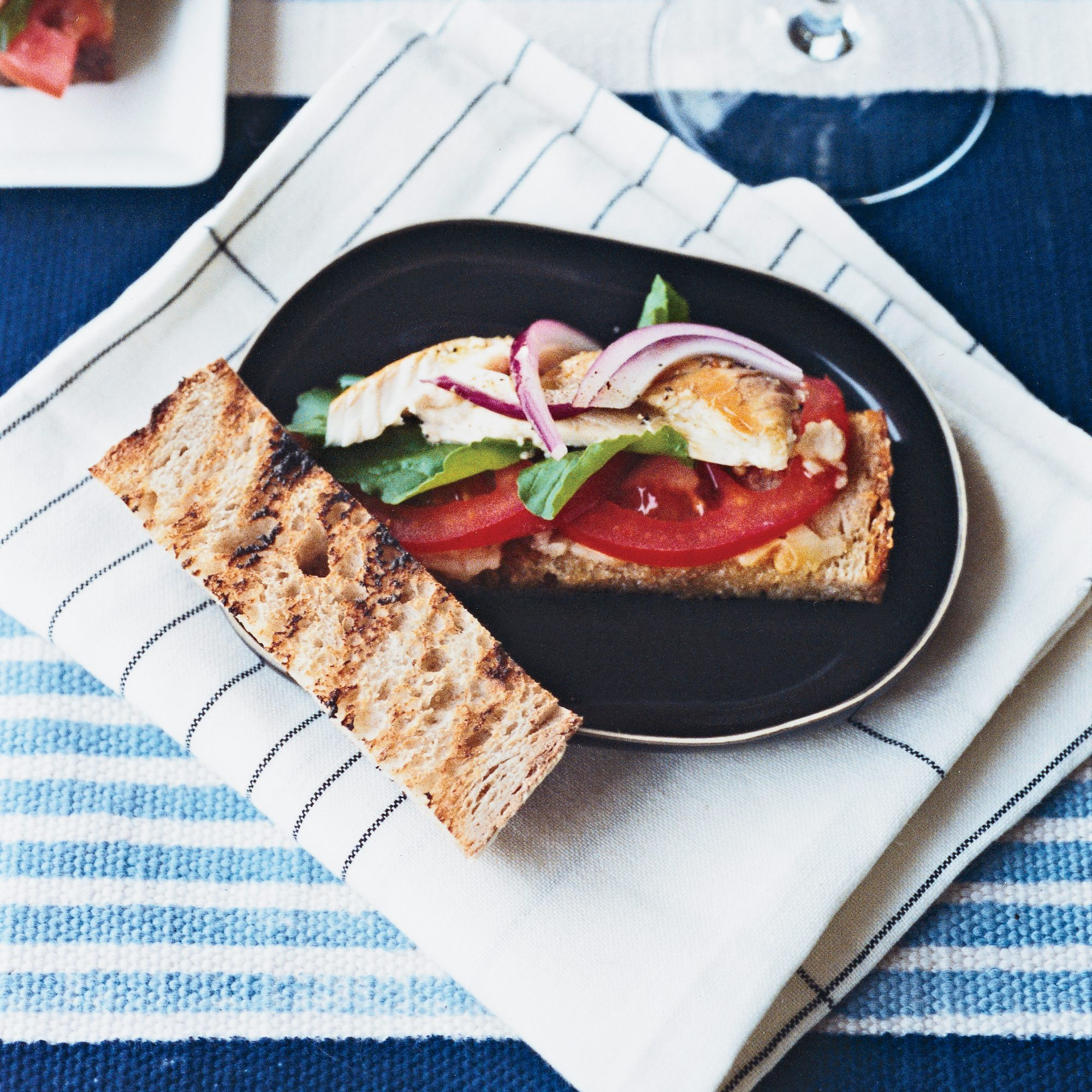 Open-Face Smoked-Mackerel Sandwiches