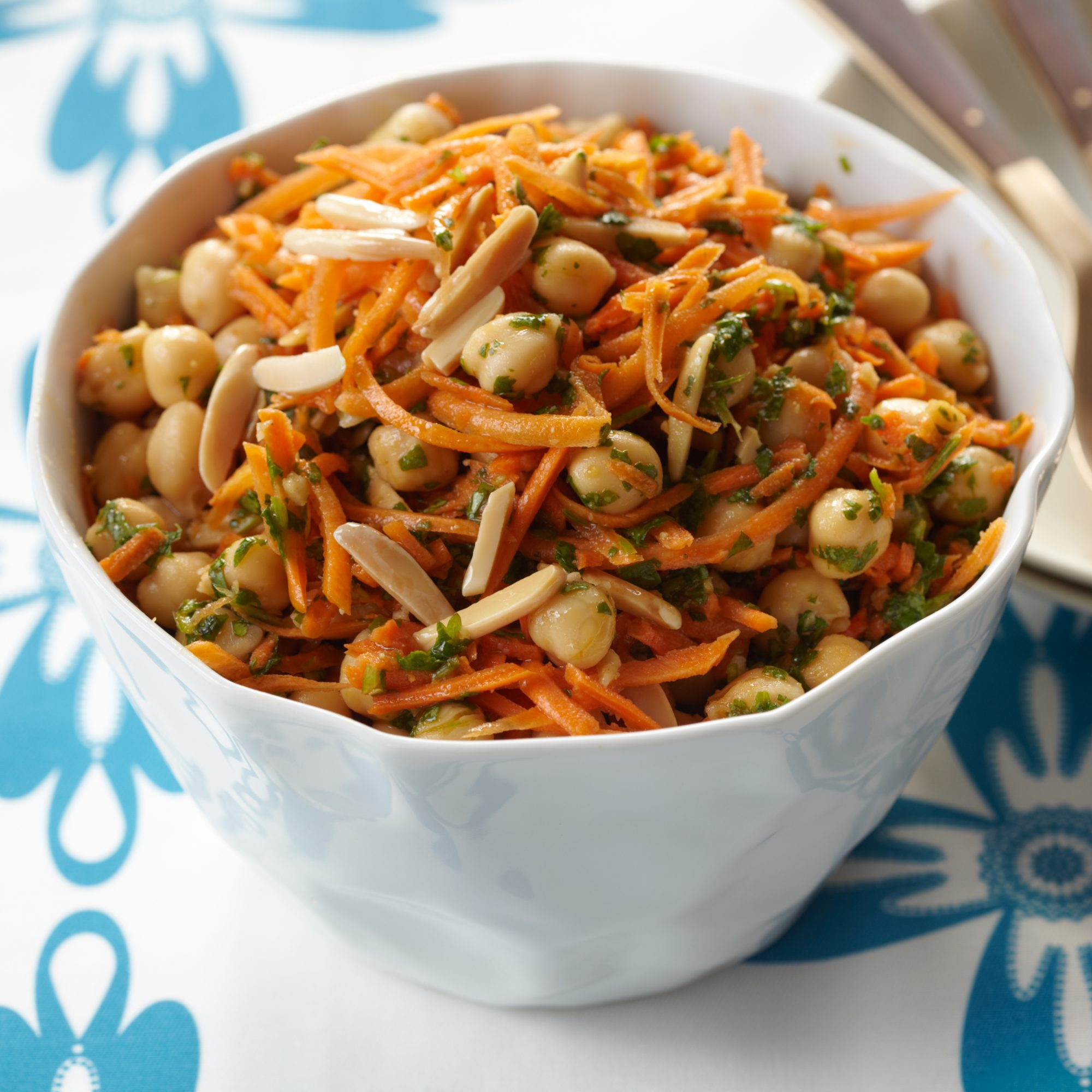 Carrot-and-Chickpea Salad