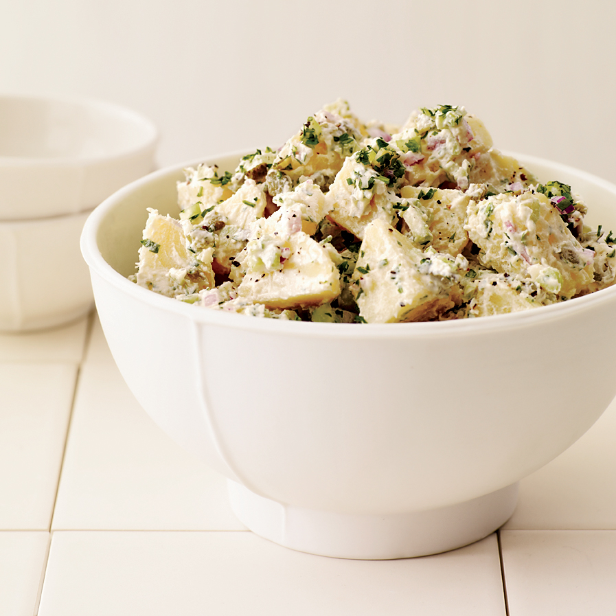 Potato Salad with Hummus-Yogurt Dressing
