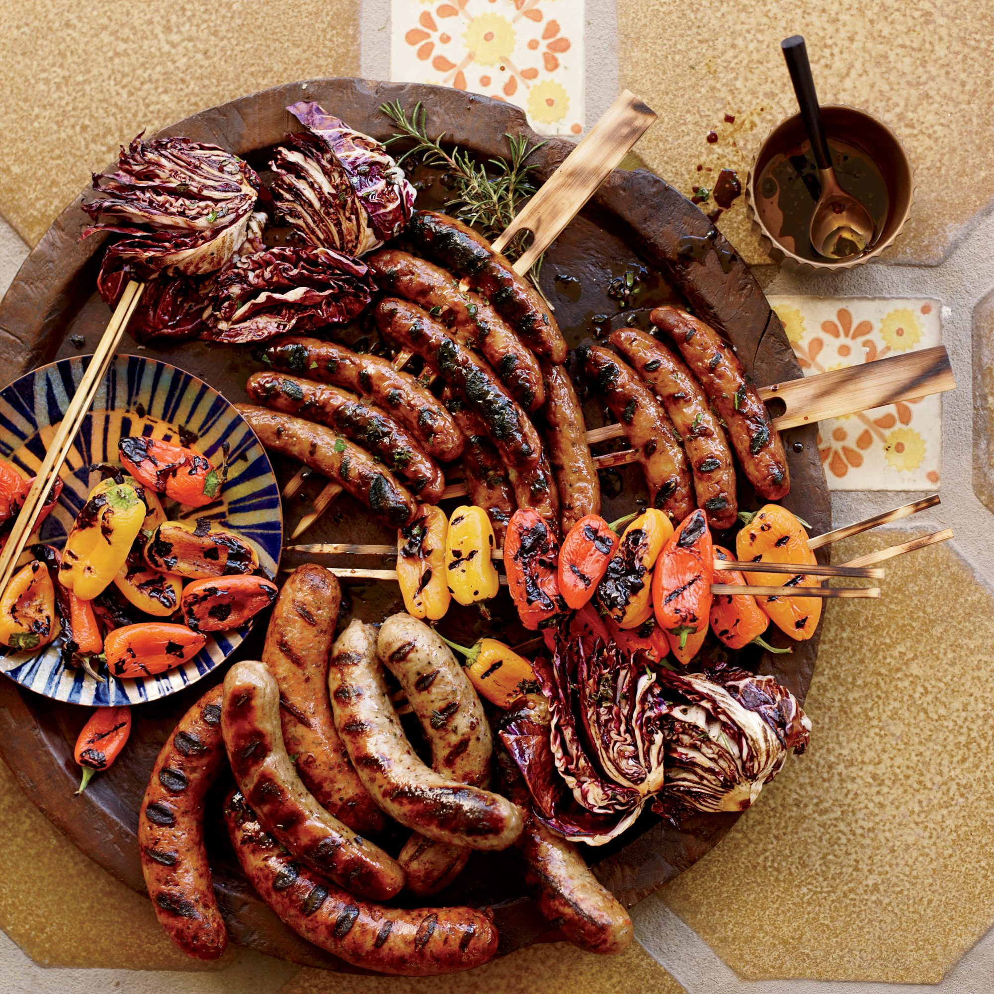Sausage Mixed Grill with Balsamic Vinaigrette