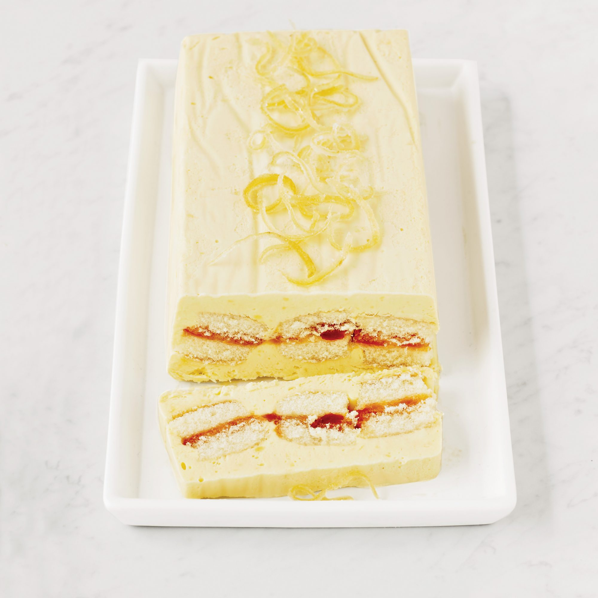 Lemon-Honey Semifreddo