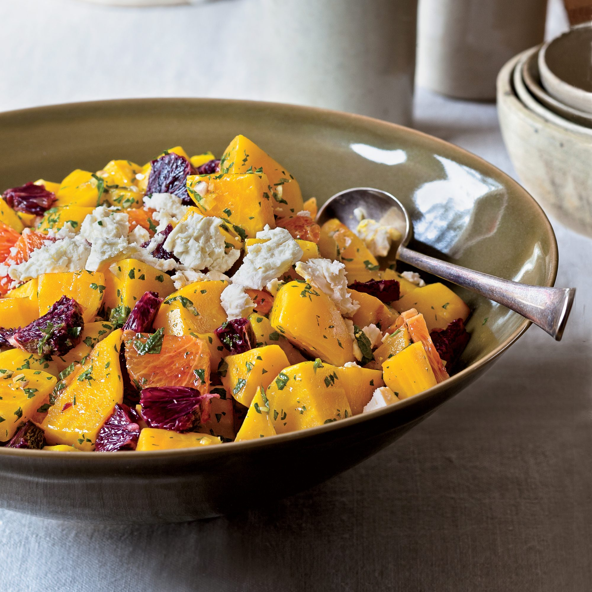 Beet-and-Blood-Orange Salad with Mint
